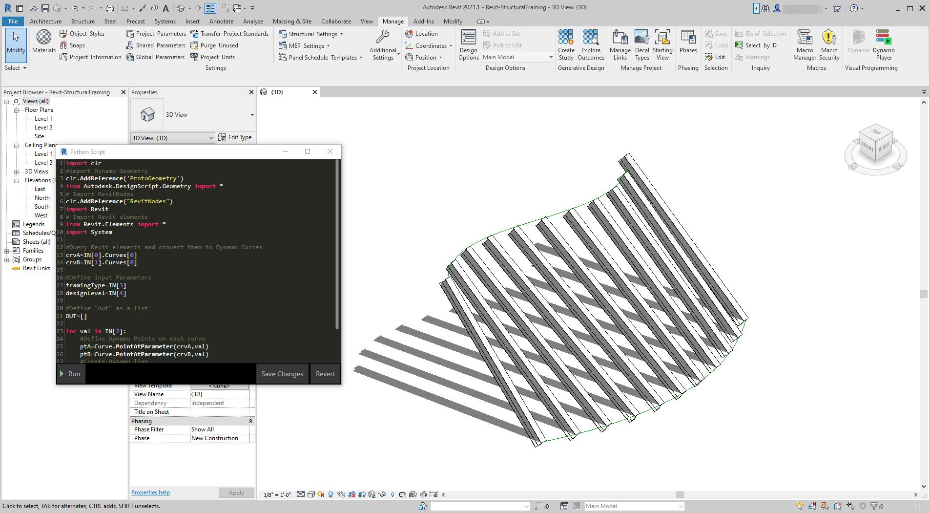 Python and Revit | The Dynamo Primer
