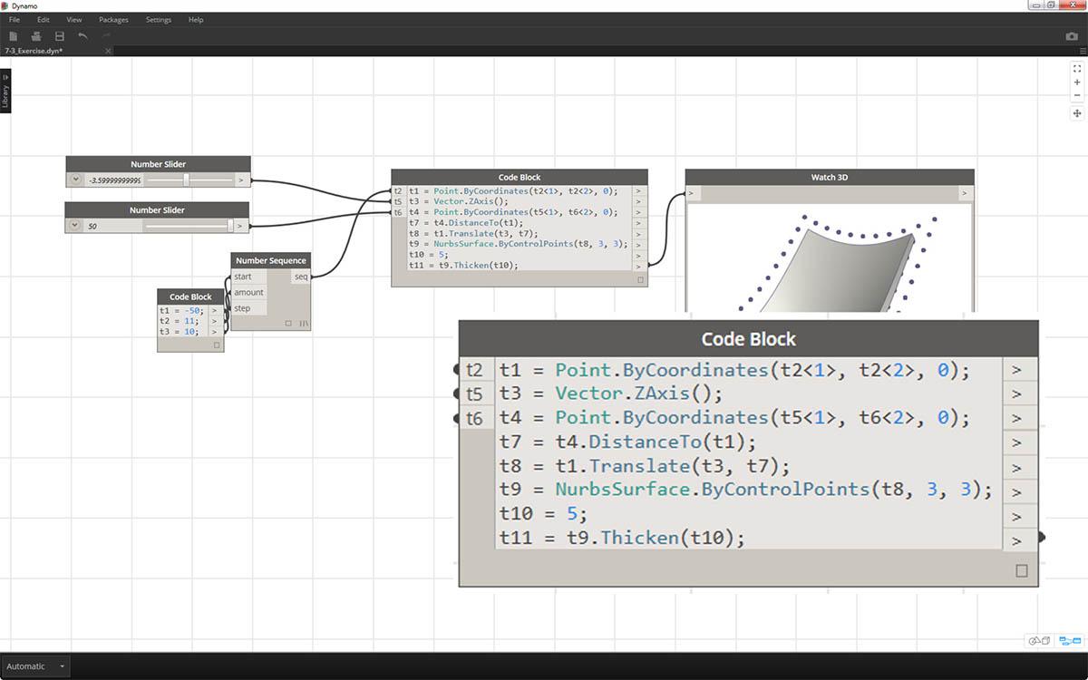 DesignScript Syntax | The Dynamo Primer